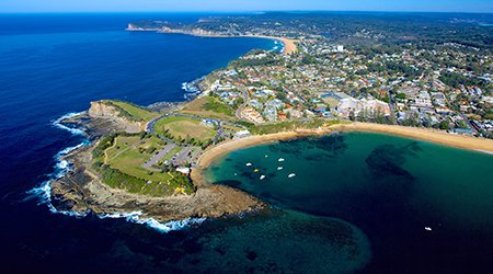 See beautiful Terrigal Beach